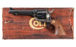 Colt New Frontier Single Action Army Flat Top Revolver with Box
