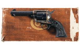 Third Generation Colt Single Action Army Revolver with Box
