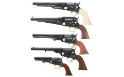 Five Reproduction Revolvers