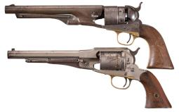 Two Antique Revolvers