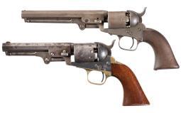 Two American Percussion Revolvers