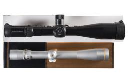 Two Rifle Scopes