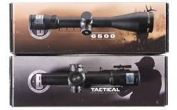 Two Bushnell Scopes