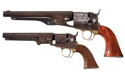 Two Civil War Era Colt Percussion Revolvers