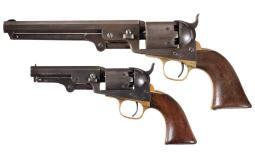 Two Colt Percussion Revolvers