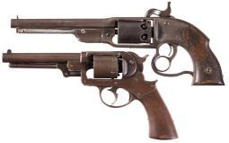 Two Civil War Contract Percussion Revolvers