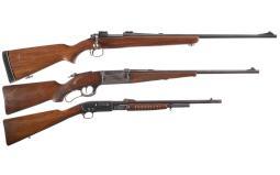 Three Rifles