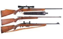 Three Sporting Longarms