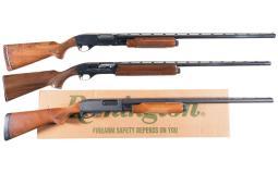 Three Remington Shotguns