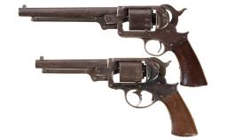 Two Starr Arms Co. Percussion Army Revolvers