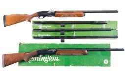 Two Remington Semi-Automatic Shotguns