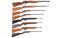 Eight Sporting Rifles