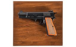 Cased Commemorative Browning High Power Semi-Automatic Pistol