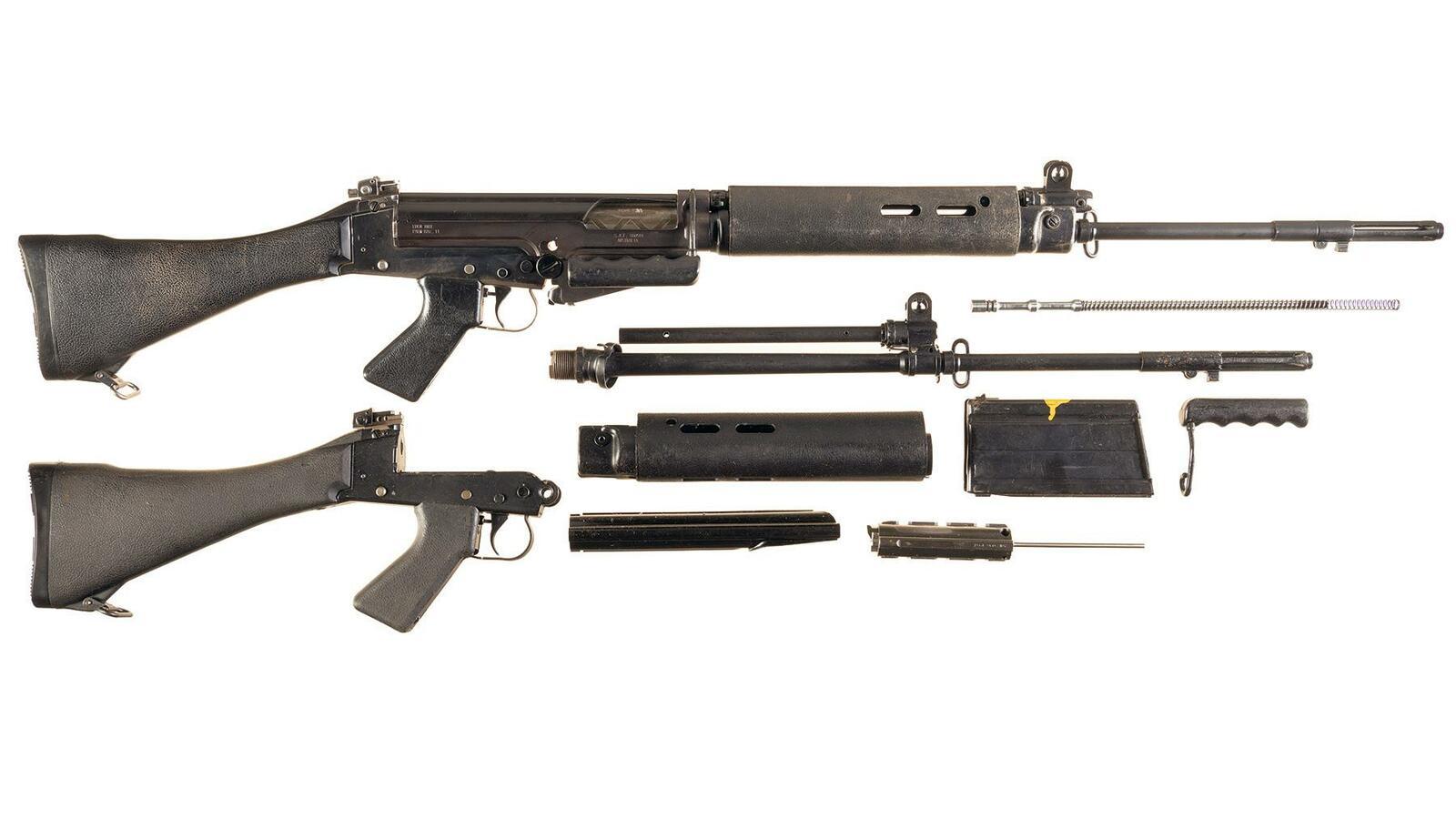 S A F  L1A1A Rifle 7 62 mm