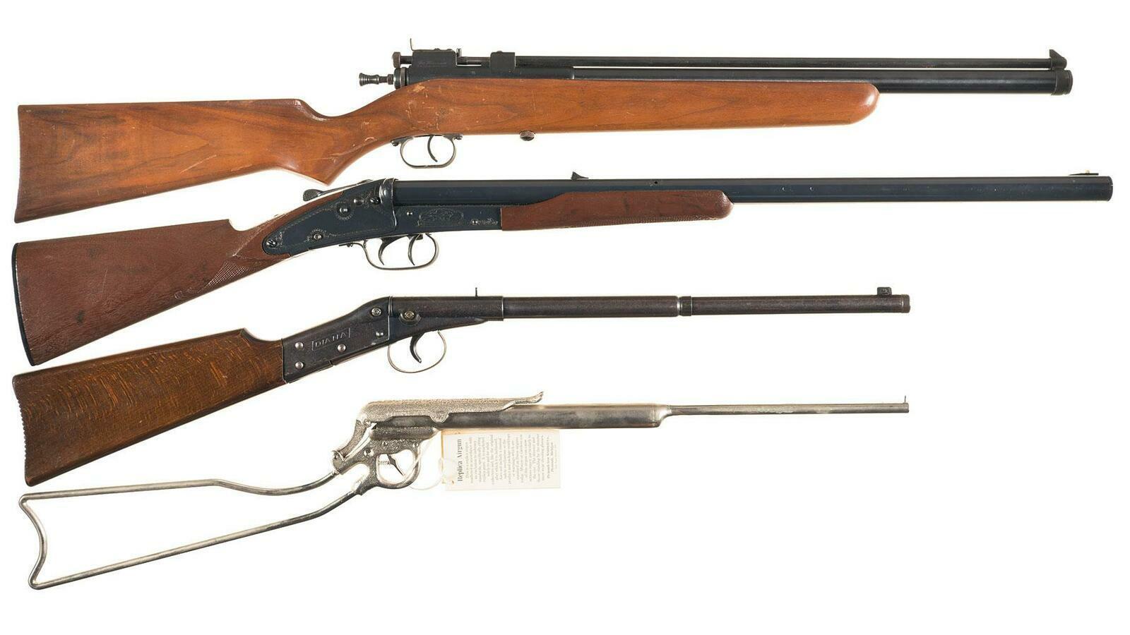 Four Air Rifles