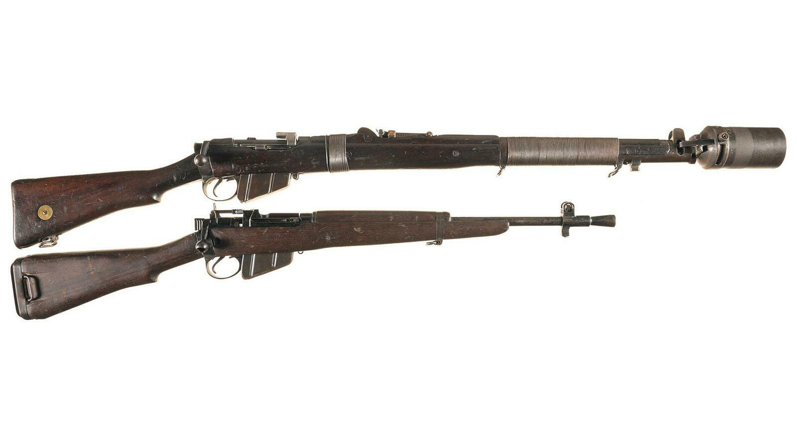 Two British Military Bolt Action Longarms