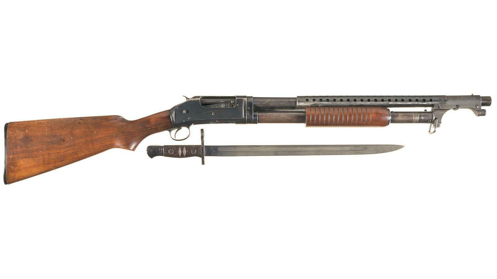 Winchester Model 97 Takedown Trench Shotgun w/Bayonet