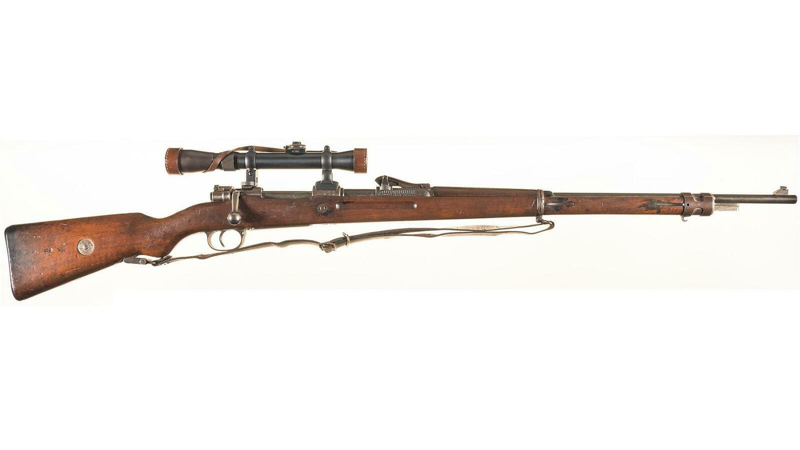 Danzig Arsenal GEW98 Mauser Sniper Style Rifle with Scope