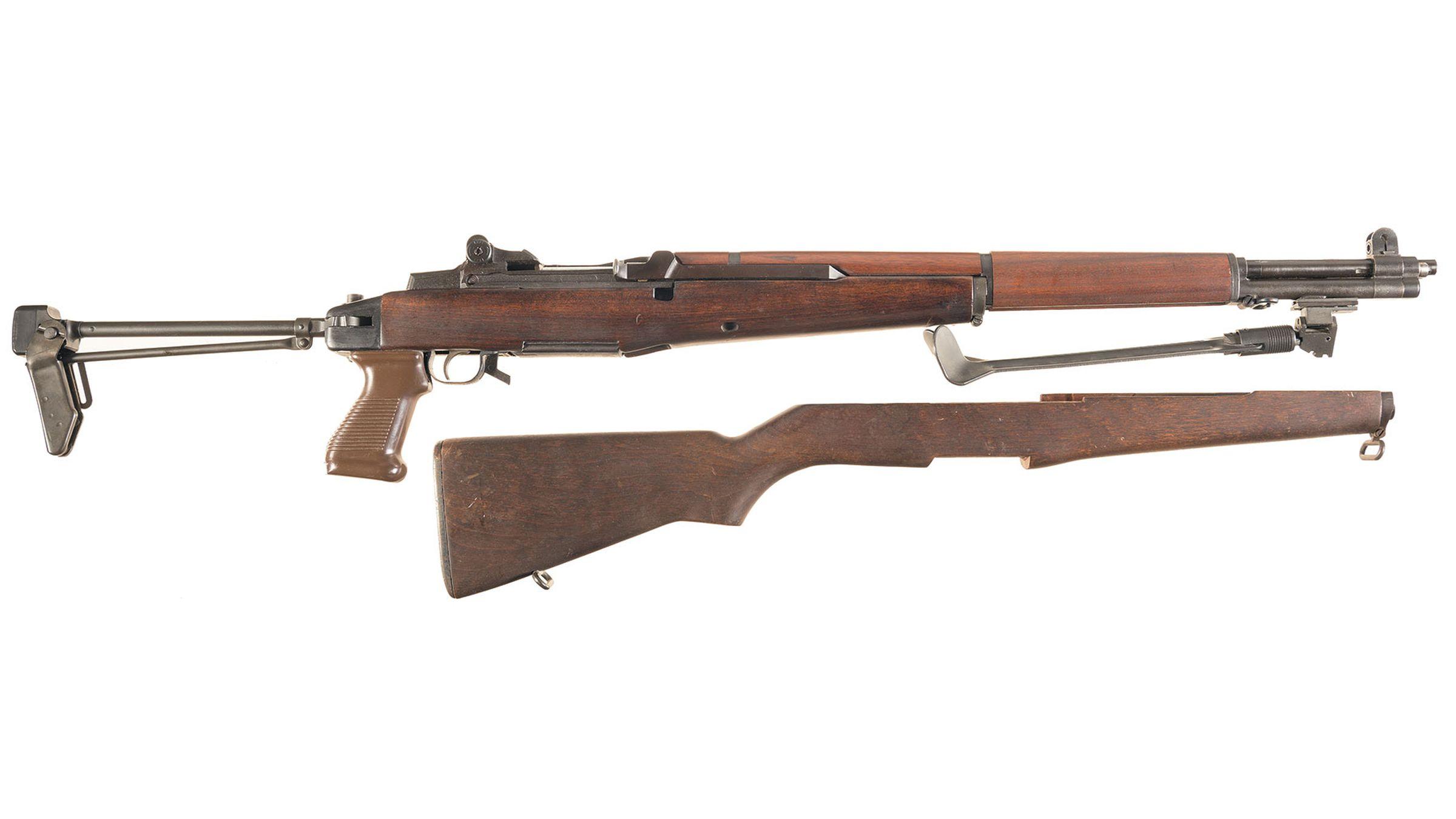 World War II U S  Winchester M1 Garand Semi-Automatic Rifle