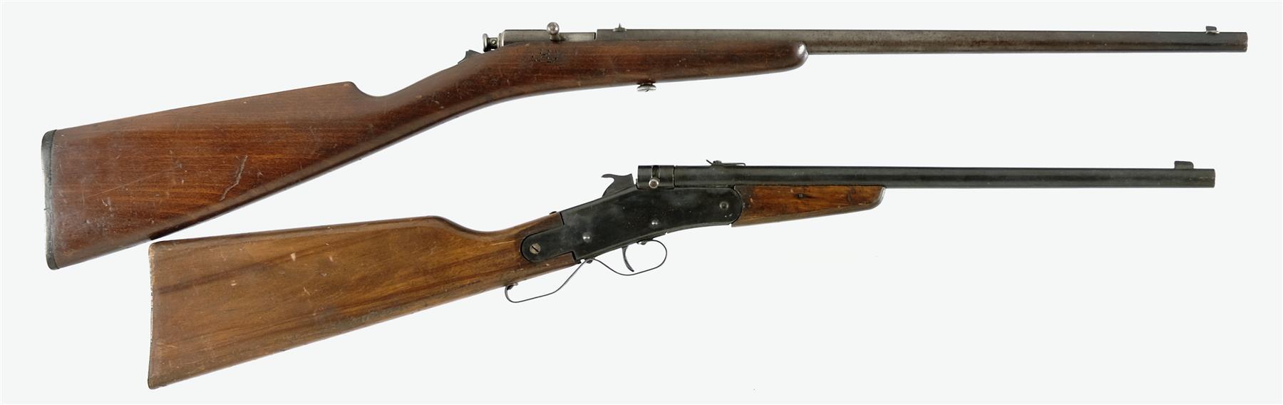 Thumb trigger rifle