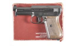 Mauser 1914 Pistol