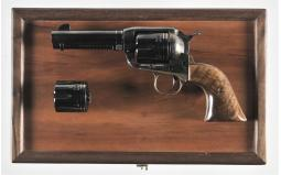 Ruger Vaquero Revolver with Inscription