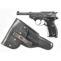 Mauser byf/44 P38 Pistol, Luftwaffe Style Holster