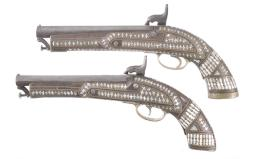 Two Percussion Pistols