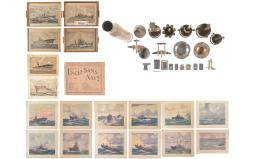 Group of Assorted Naval Themed Memorabilia