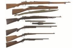 Five Long Guns