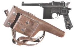 Mauser Broomhandle Pistol 9 mm
