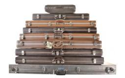 Nine Assorted Firearm Hard Cases