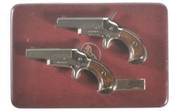 Cased Pair of Colt Derringers