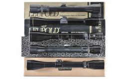 Five Assorted Rifle Scopes
