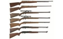 Seven Semi-Automatic Rifles