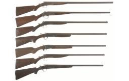 Seven Single Shot Shotguns