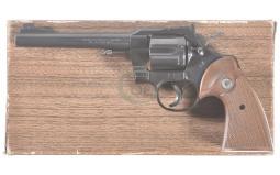 Colt Officers Model Match Revolver 22 LR