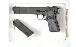 Browning Arms High Power Pistol 9 mm parabellum