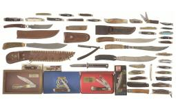 Large Group of Assorted Knives