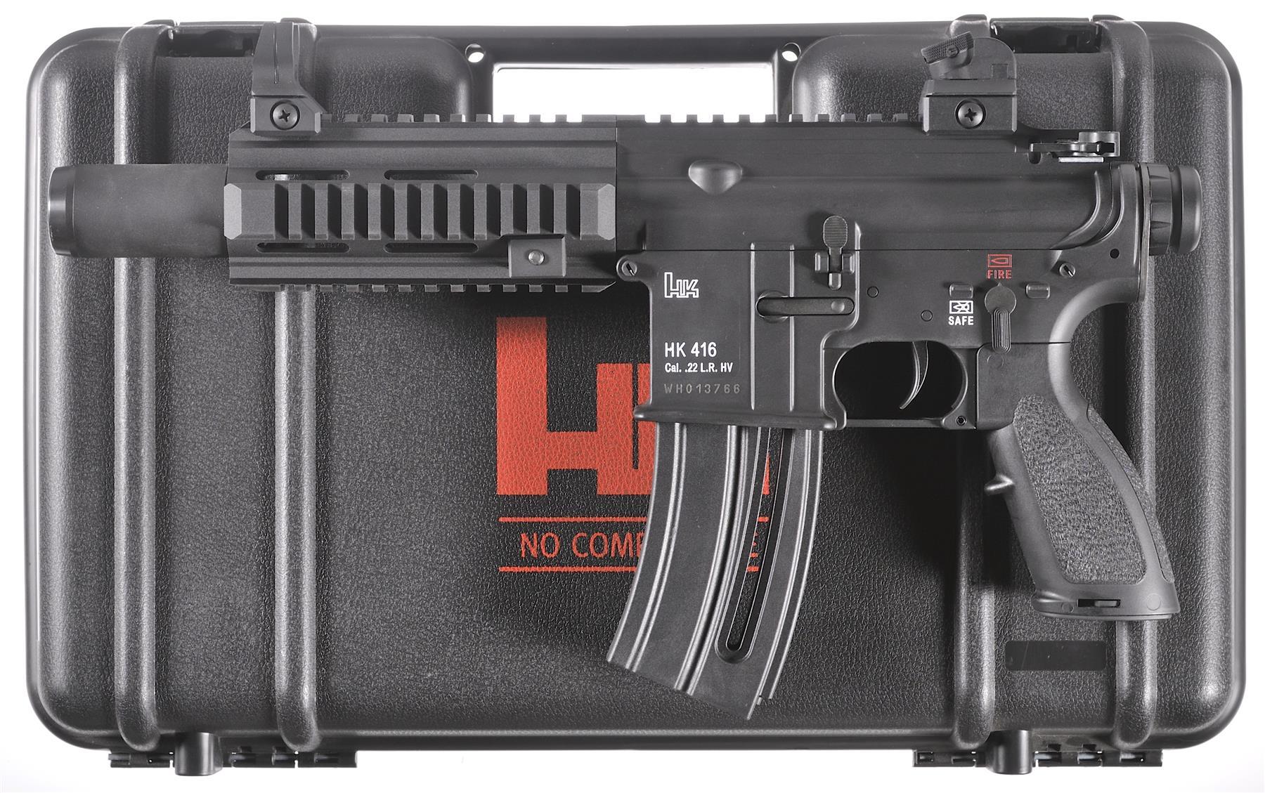 Heckler & Koch HK-416 Pistol 22 LR