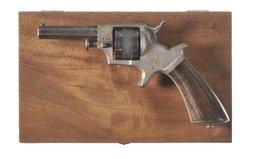 English Spur Trigger Revolver 22