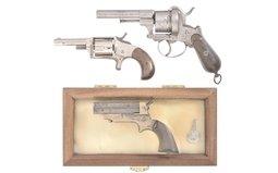 Three Antique Hand Guns