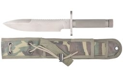 Robert Parrish Survival Knife with Sheath