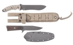 Two Assorted Knives with Sheaths