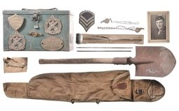 Group of Assorted U.S. Military Items