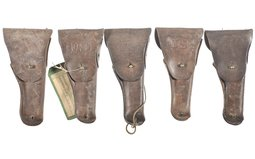 Five U.S. Marked 1911 Holsters