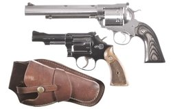 Ruger Super Blackhawk And Smith & Wesson 18-2