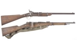 Enfield Snider Mk. III And St. Etienne Berthier Model 1892