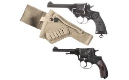 Two Military Double Action Revolvers
