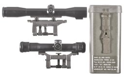 Two German Scopes with Mounts
